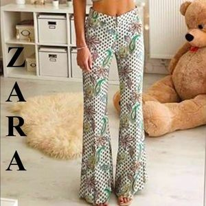 Zara bell-bottoms